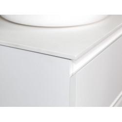 Sally Badezimmer Unterschrank 60cm weiß glänzend - SLY060.02A - 2