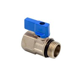 "Brass Kugelhahn AG X IG 1/2 ""Blue - BLR438 - 0"