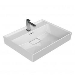 Sharp ceramic sink (BXTXH) 80 x 48 x 10 cm - 37300-U - 0