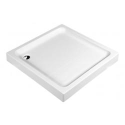 Aloni shower tray shower tray square (BXBxH) 90 x 90 x 18 cm white - TK815 - 2