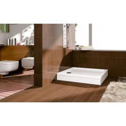 Aloni shower tray shower tray square (BXBxH) 90 x 90 x 18 cm white - TK815 - 6