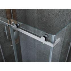 Aloni shower cabin sliding door + side wall clear glass 8 mm (TXBXH) 800 x 1200 x 1950 mm - CR045F-80120 - 2